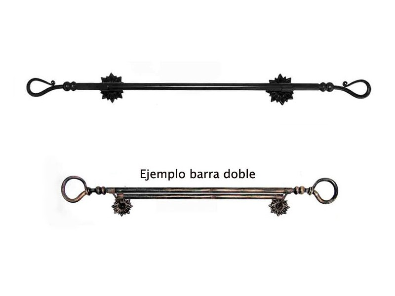 Barra Cortina de Forja BC07