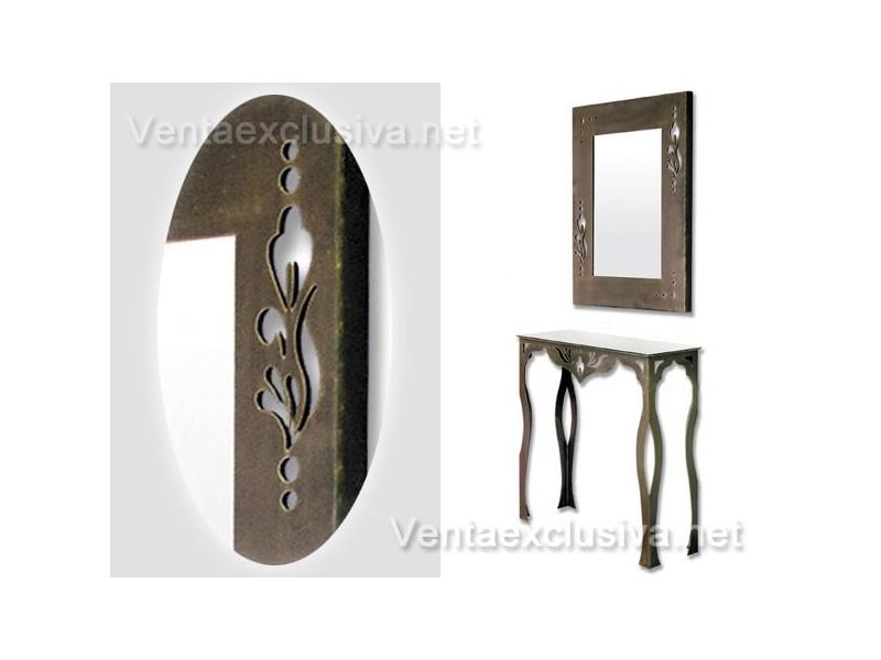 Mueble recibidor forja-610D