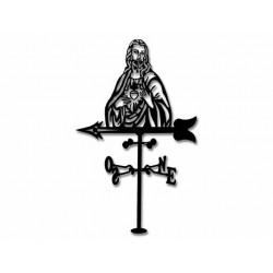 Veleta de Viento Sagrado Corazón de Jesús