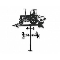 Veleta de Viento Tractor