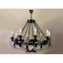 Lámpara de forja-0527-8
