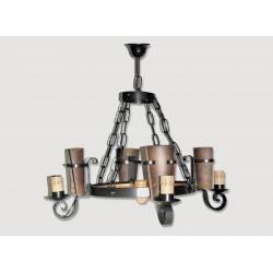 Lámpara Rustica de Forja-0551-2