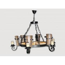 Lámpara Rustica de Forja-0553-4